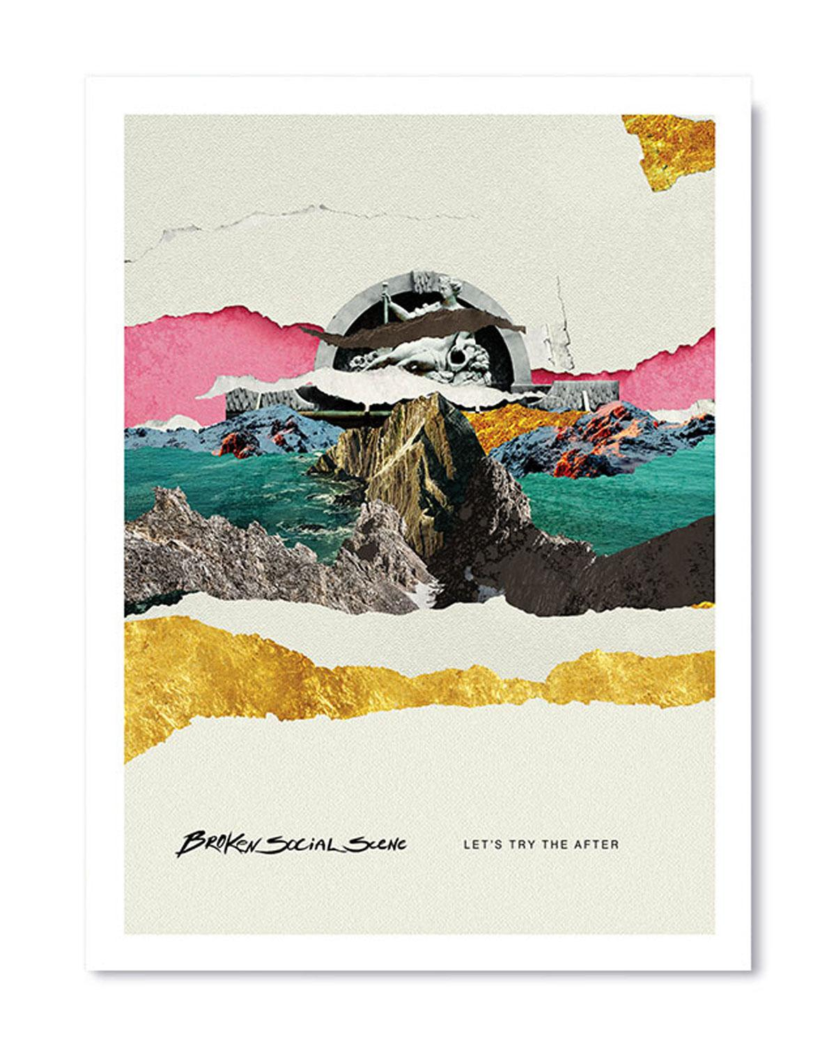 Broken Social Scene -POSTER- Lets Try The After 18???x24??? (2019)