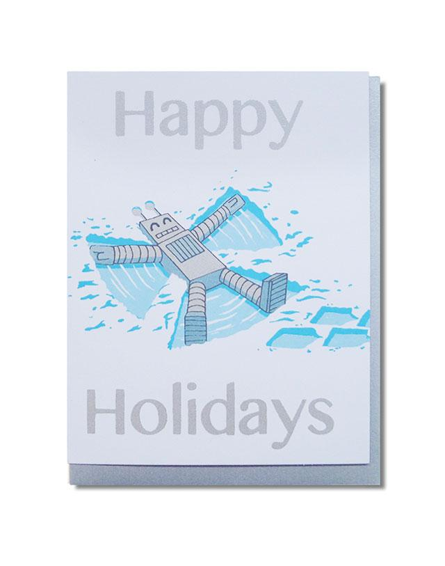 Kid Icarus Holiday - Happy Holidays Robot