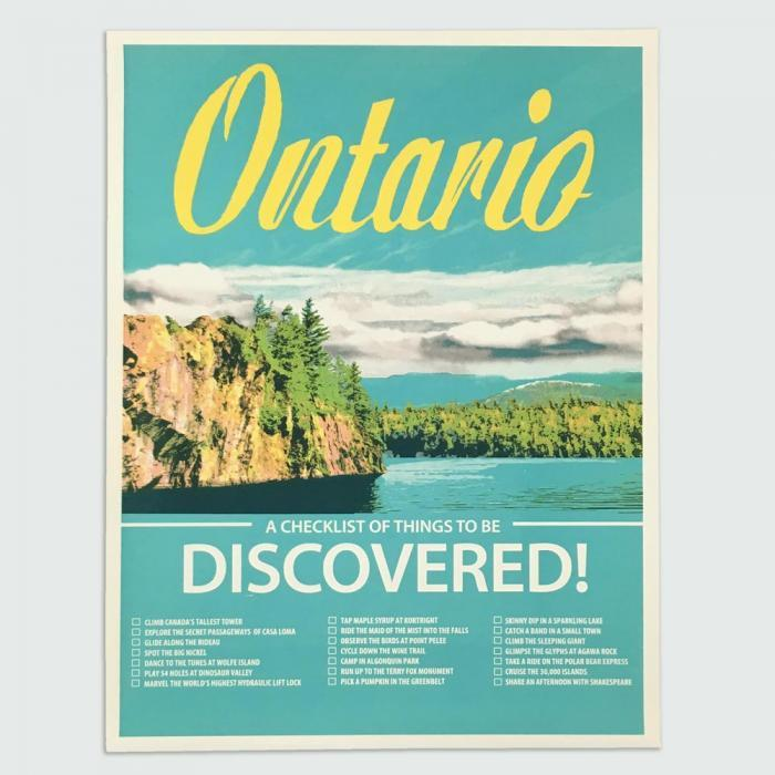 Kid Icarus -POSTER- Ontario Discovered, 18x24