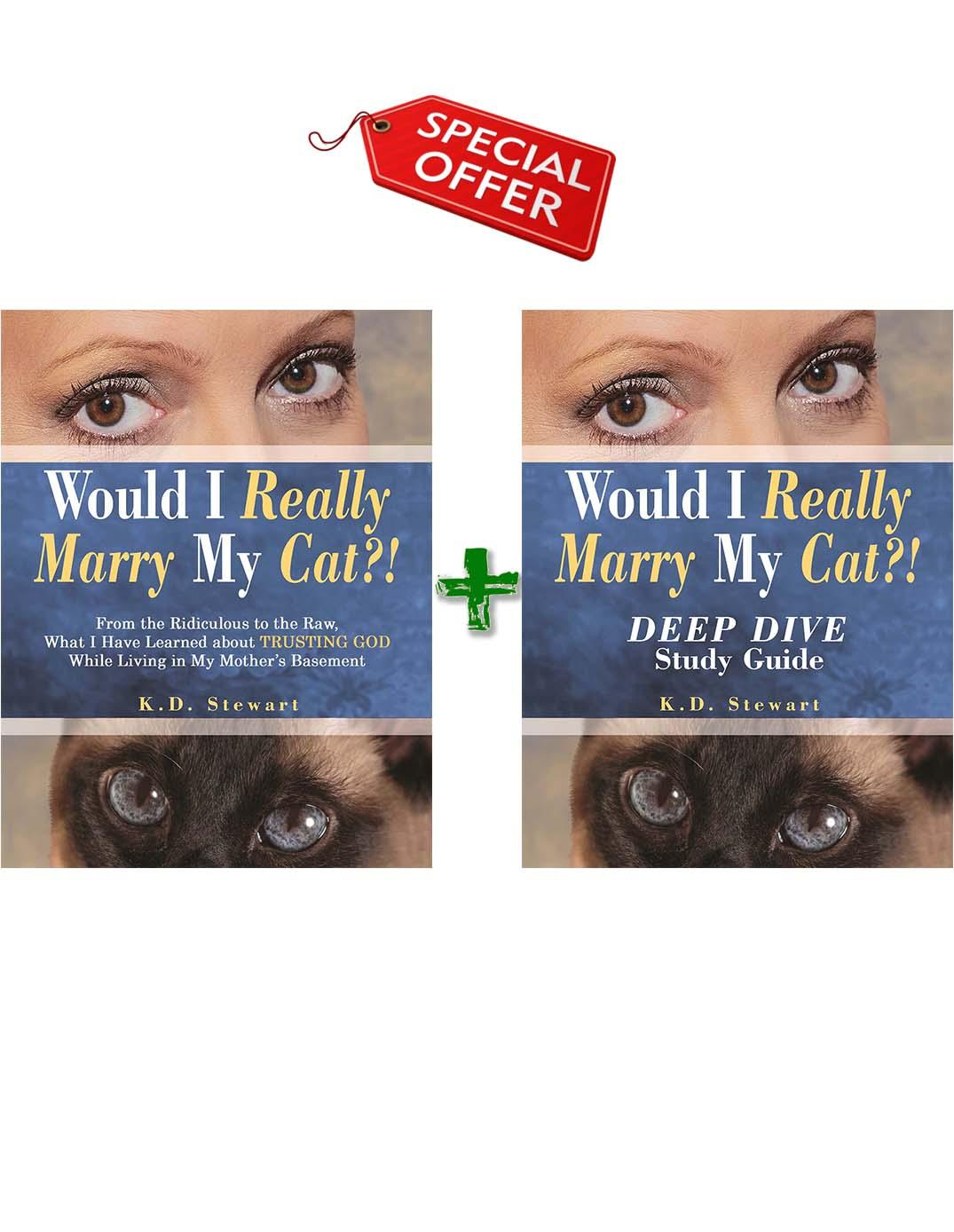 BUNDLE - Would I Really Marry My Cat?! Book & DEEP DIVE Study Guide