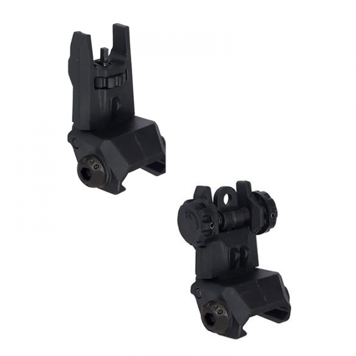 XTS Polymer Rear Flip-up Sight & Front Flip-up Sight (combo)