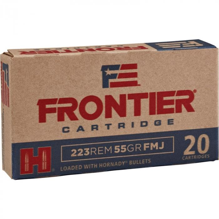 223 Remington 55 gr FMJ Frontier