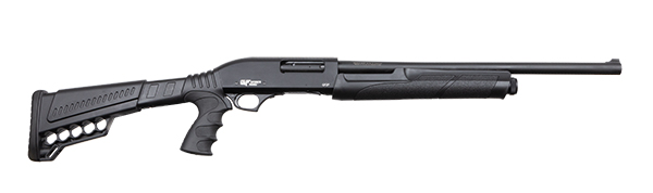 "GFORCE GF2P 20"" 12 GAUGE PUMP-ACTION SHOTGUN 5RD, BLK - GF2P1220"