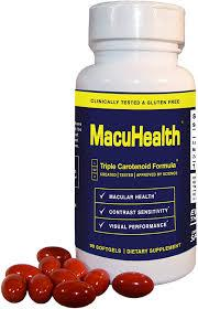 MacuHealth 1 year supply (4 bottles)