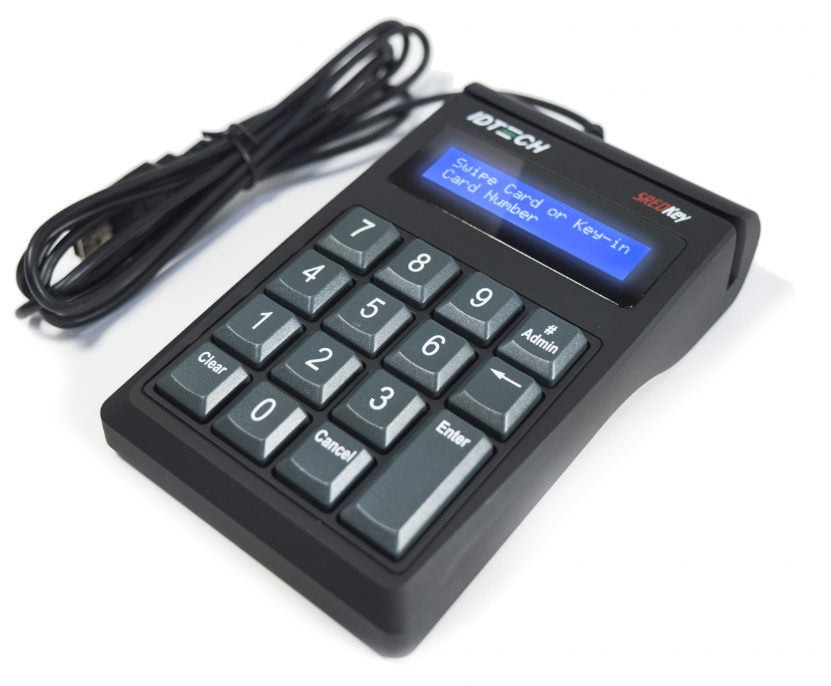 SRED Encrypted USB Keypad and Reader