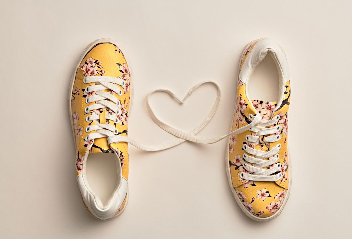 Trendy Yellow Shoes