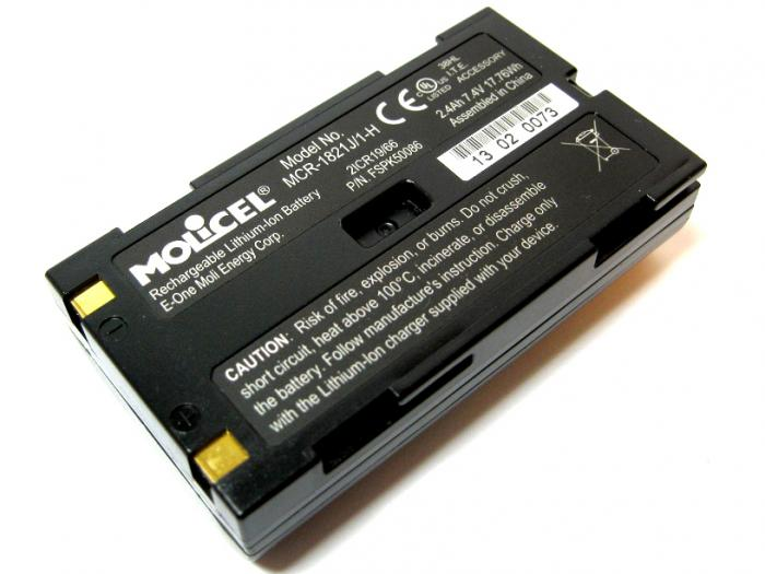 MCR1821J Lithium Ion Battery