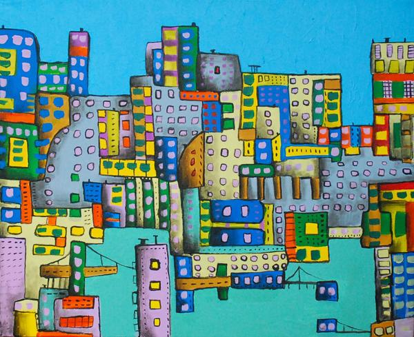 "City drill zone, 20"" x 16"""