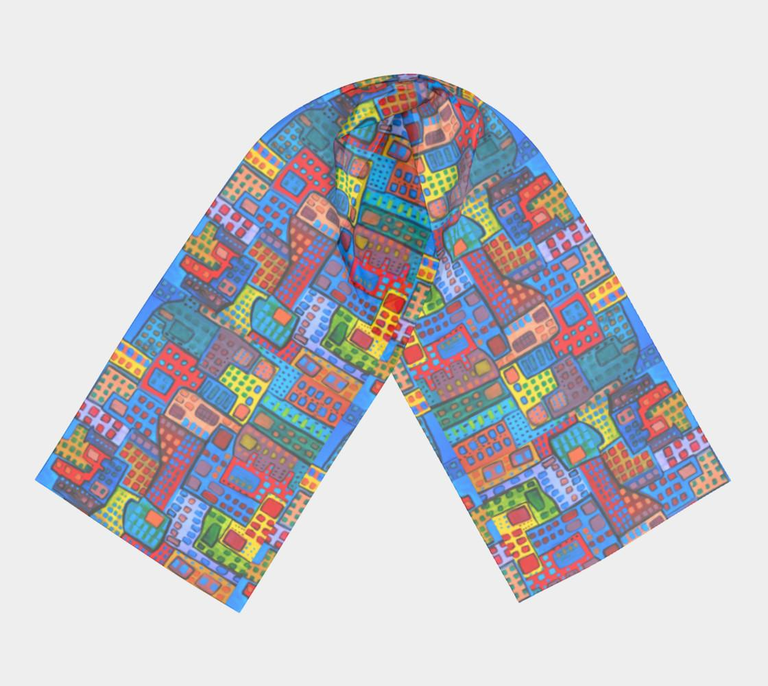 City in motion scarf