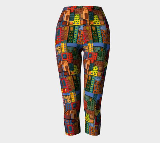 City in Motion Capris