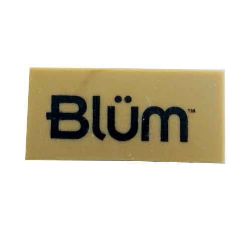 Blum Brown Gum Eraser 2x1