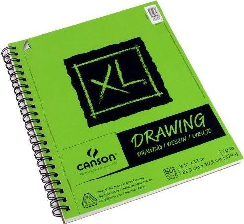 Canson XL Drawing Pad 9x12 (60 sheets)