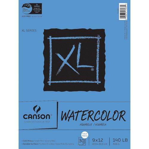 Canson XL Watercolour Pad 9x12 (30 sheets)