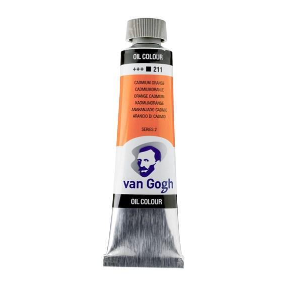 Van Gogh Oil Cadmium Orange 40 ml 211