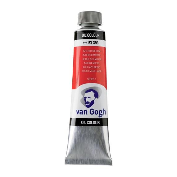 Van Gogh Oil Azo Red Medium 40 ml 393