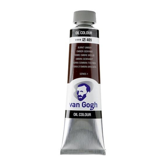 Van Gogh Oil Burnt Umber 40 ml 409