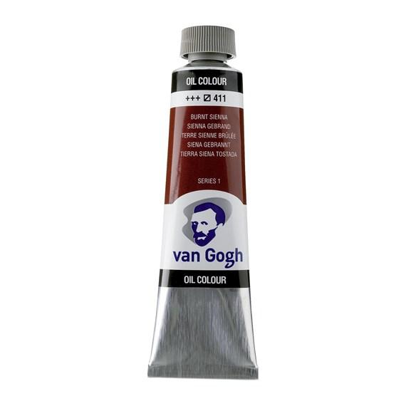 Van Gogh Oil Burnt Sienna 40 ml 411