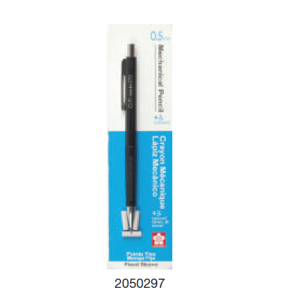 Mechanical Pencil 0.5 with 3 erasers