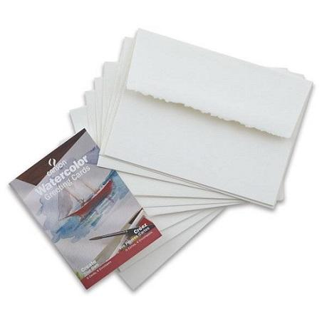 Canson Watercolour Cards/Envelopes 6 pack