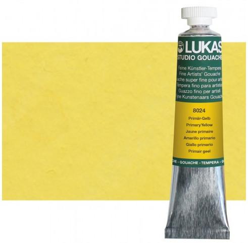 Lukas Gouache Primary Yellow 20ml