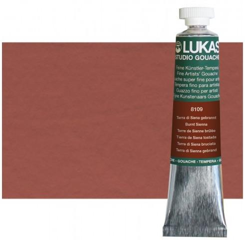 Lukas Gouache Burnt Sienna 20ml