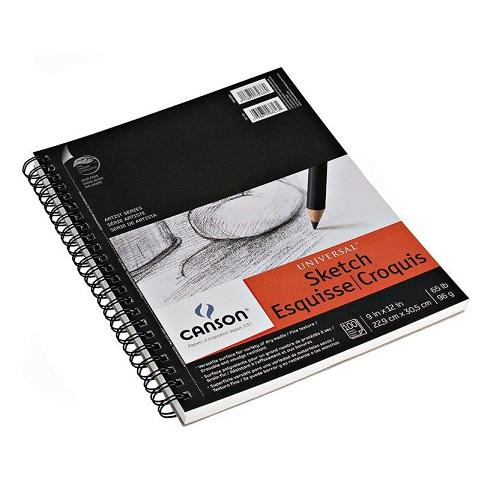 Canson Universal Sketch 9x12 (100 sheets)