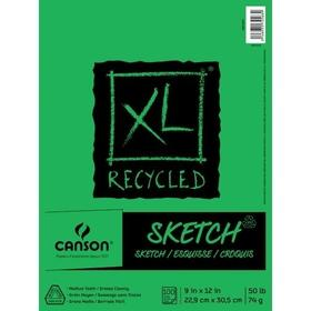 Canson XL Recycled Sketch Pad 9x12 (100 sheets)