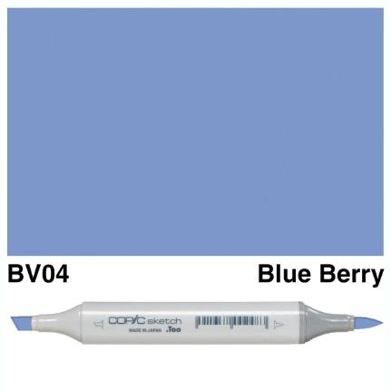 Copic Sketch Blue Berry BV04