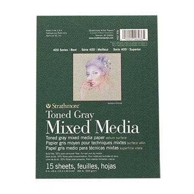 Strathmore Toned Gray Series 400 6x8 (15 sheets)