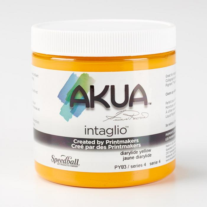 Akua Intaglio Ink - Diarylide Yellow 237ml 8oz