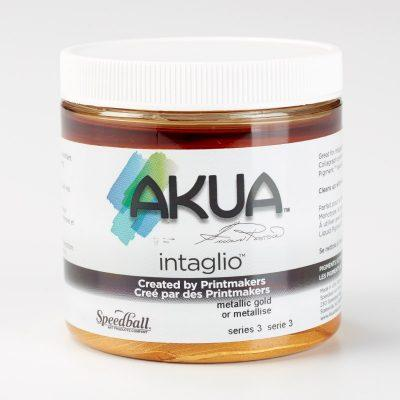 Akua Intaglio Ink - Metallic Gold 237ml 8oz