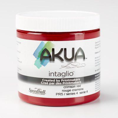 Akua Intaglio Ink - Crimson Red 237ml 8oz