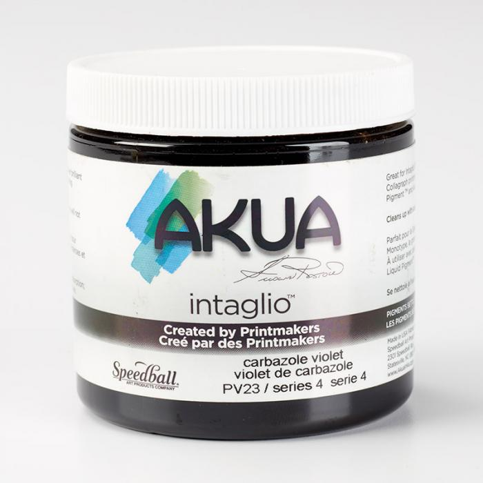 Akua Intaglio Ink - Carbazole Violet 237ml 8oz