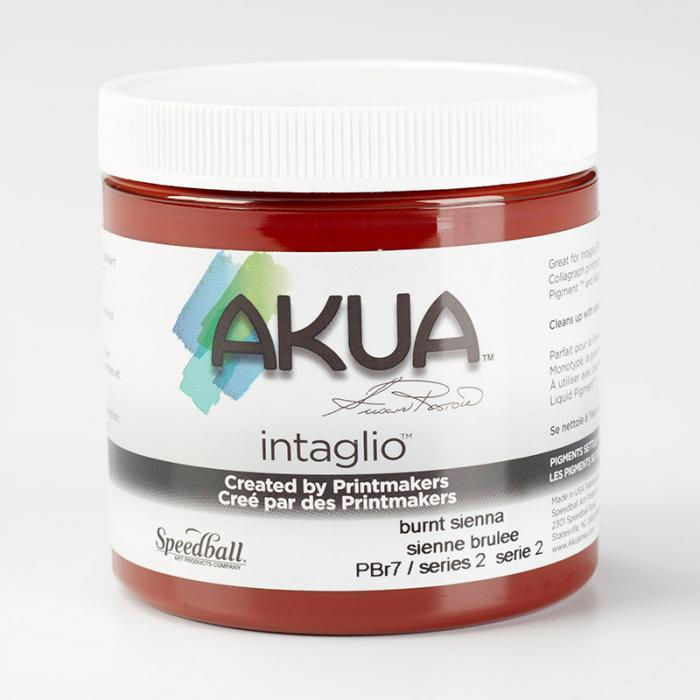 Akua Intaglio Ink - Burnt Sienna 237ml 8oz
