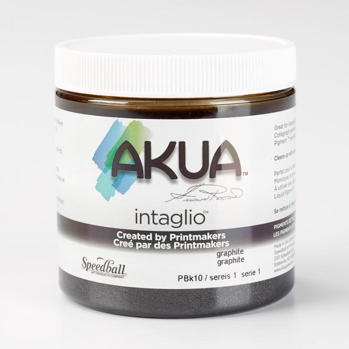 Akua Intaglio Ink - Graphite 237ml 8oz