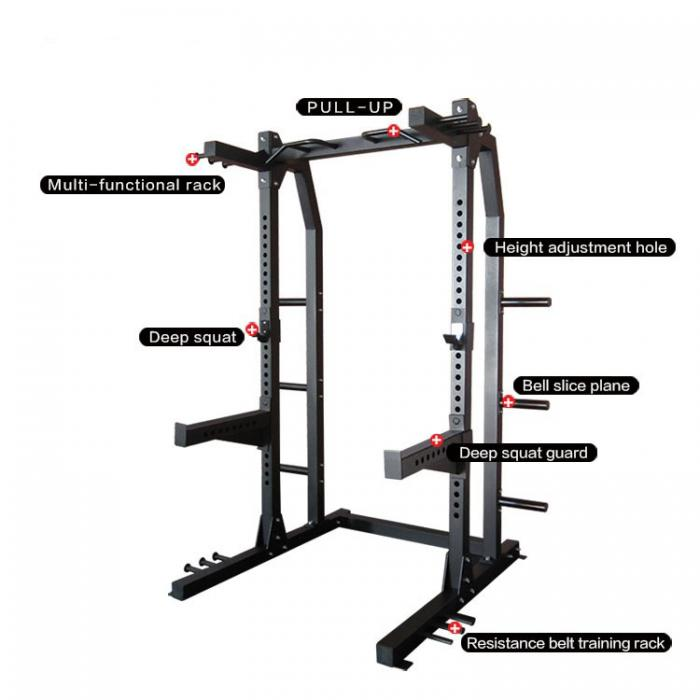 GRIT GOLIATH Power Half Rack
