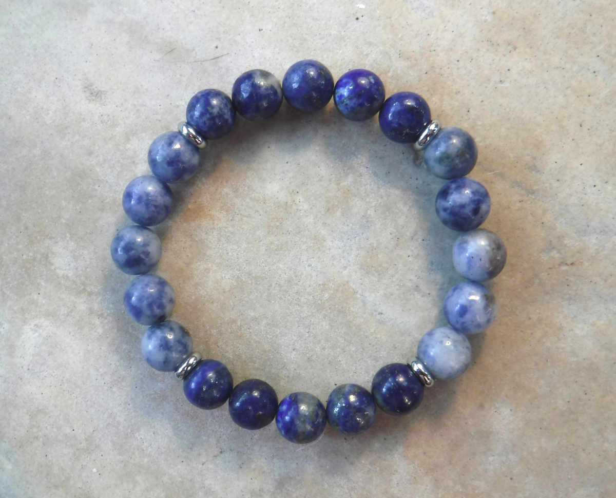 BE POWERFUL: Lapis Lazuli and Blue Spot Stone