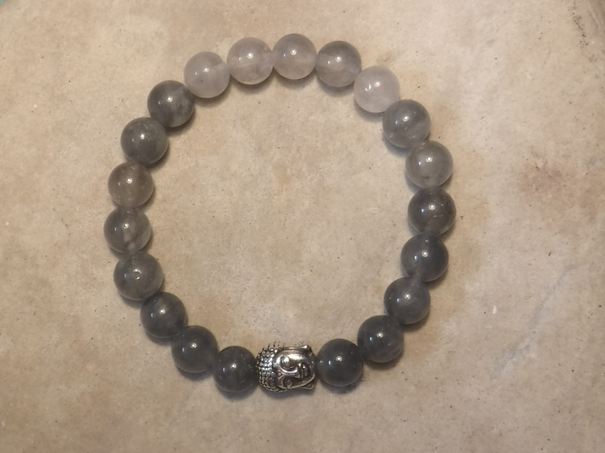 BE PROTECTED: Smoky Quartz and Buddha