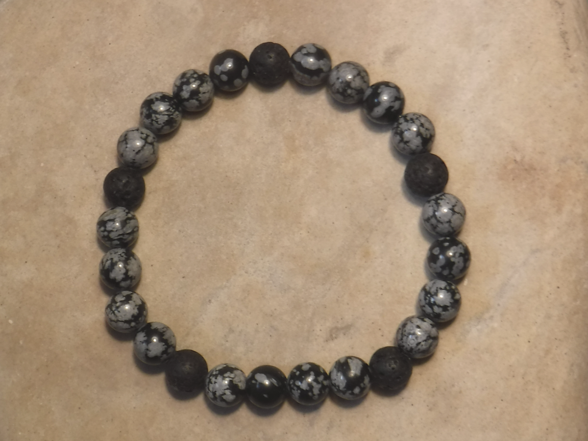 BE PURE: SNOWFLAKE OBSIDIAN