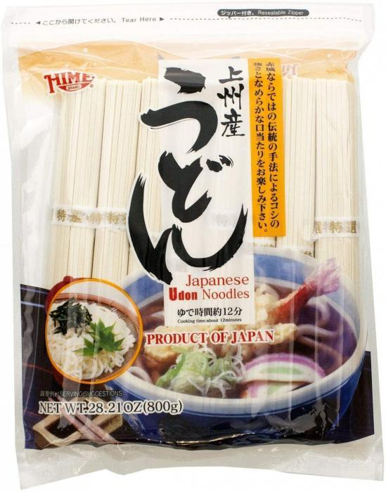 Hime Udon Noodles 800g (No broth not included)