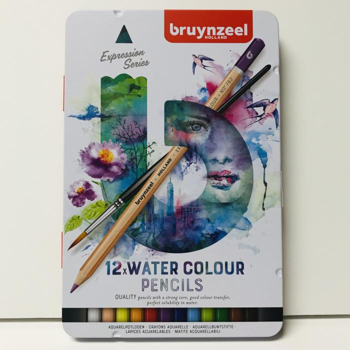Expression Water Colour Pencils - set of 12