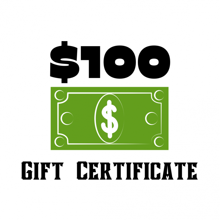 GIFT CERTIFICATE -$100