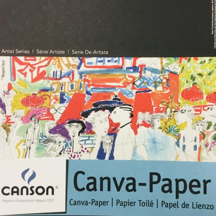 """Canson Canva-Paper Pad  9""""x 12"""""""