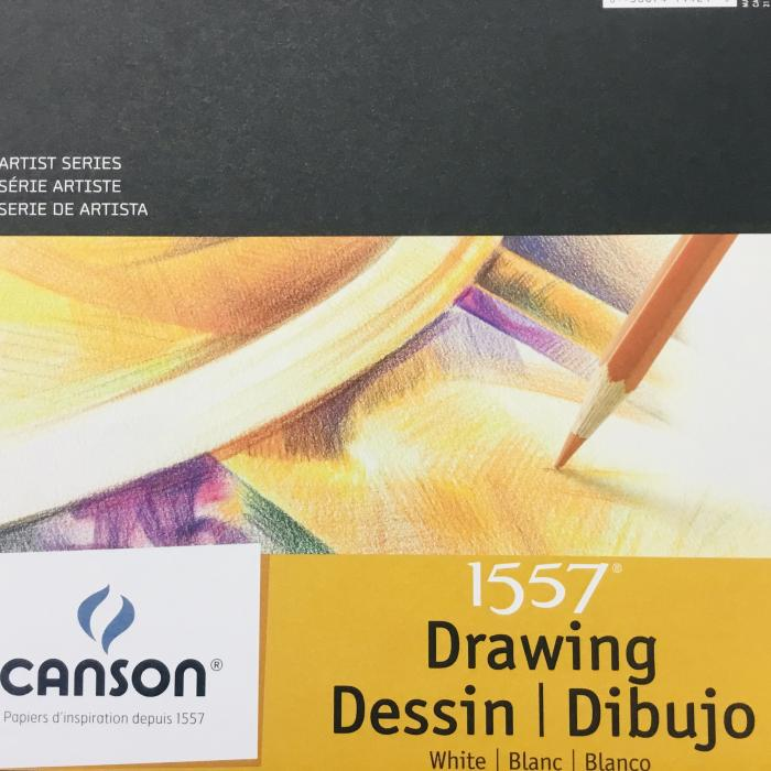 """Canson 1557 Drawing Pad, 9""""x12"""""""