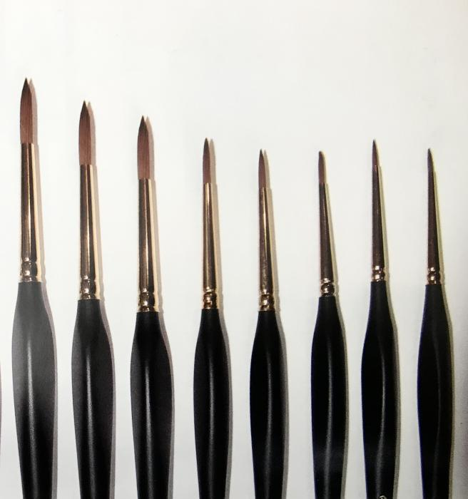 Kolinsky Watercolour Brush Series 172 Round - Available in 8 sizes