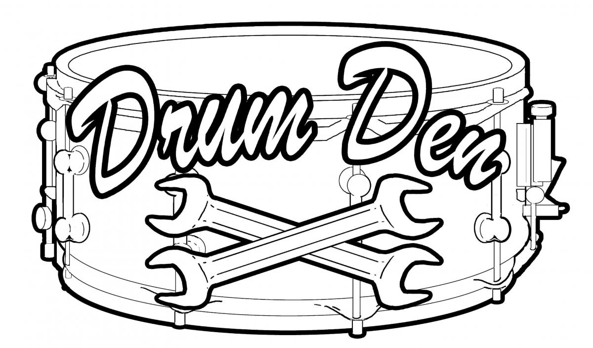 The Drum Den logo