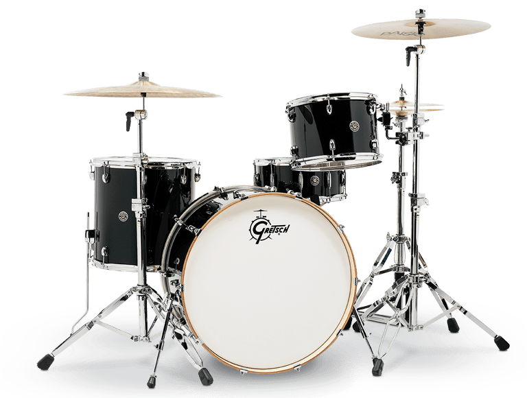 Catalina Club Rock 3-piece Kit 24/13/16 Piano Black Lacquer
