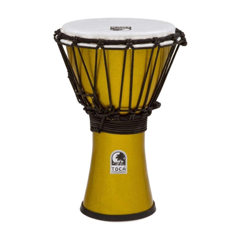 "Freestyle Colorsound 7"" Djembe Metallic Yellow"