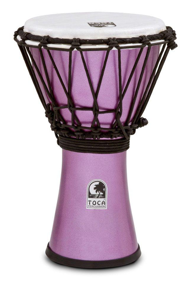"Freestyle Colorsound 7"" Djembe Metallic Violet"