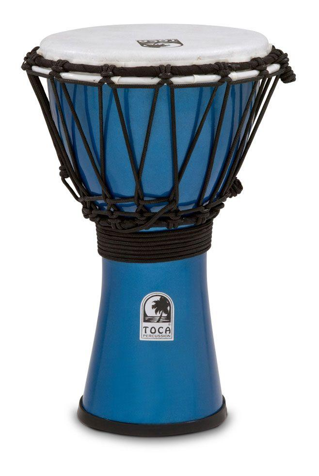 "Freestyle Colorsound 7"" Djembe Metallic Blue"